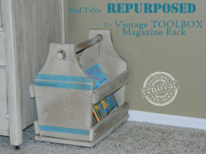 Repurposed toolbox